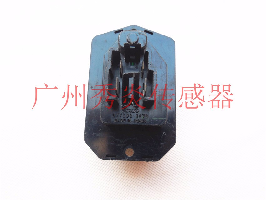 DENSO blower motor resistance 077800-1070,0778001070