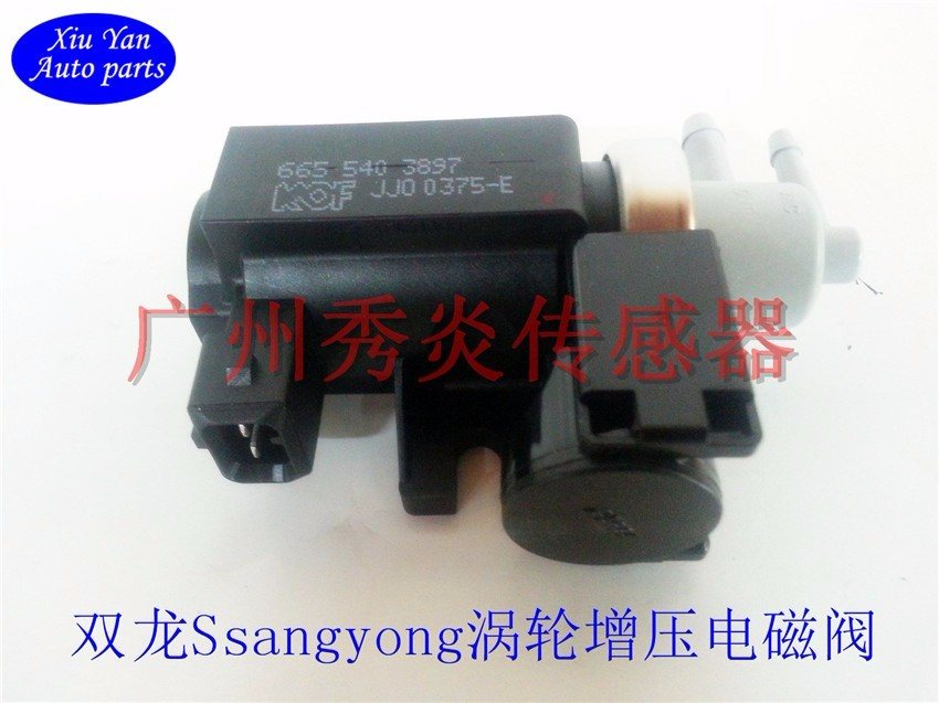 D20D27 Ssangyong Actyon (Sports) Rexton 06-14 Turbocharged Solenoid 6655403897,665 540 3897