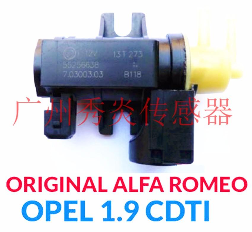 Turbocharged battery valve 55256638